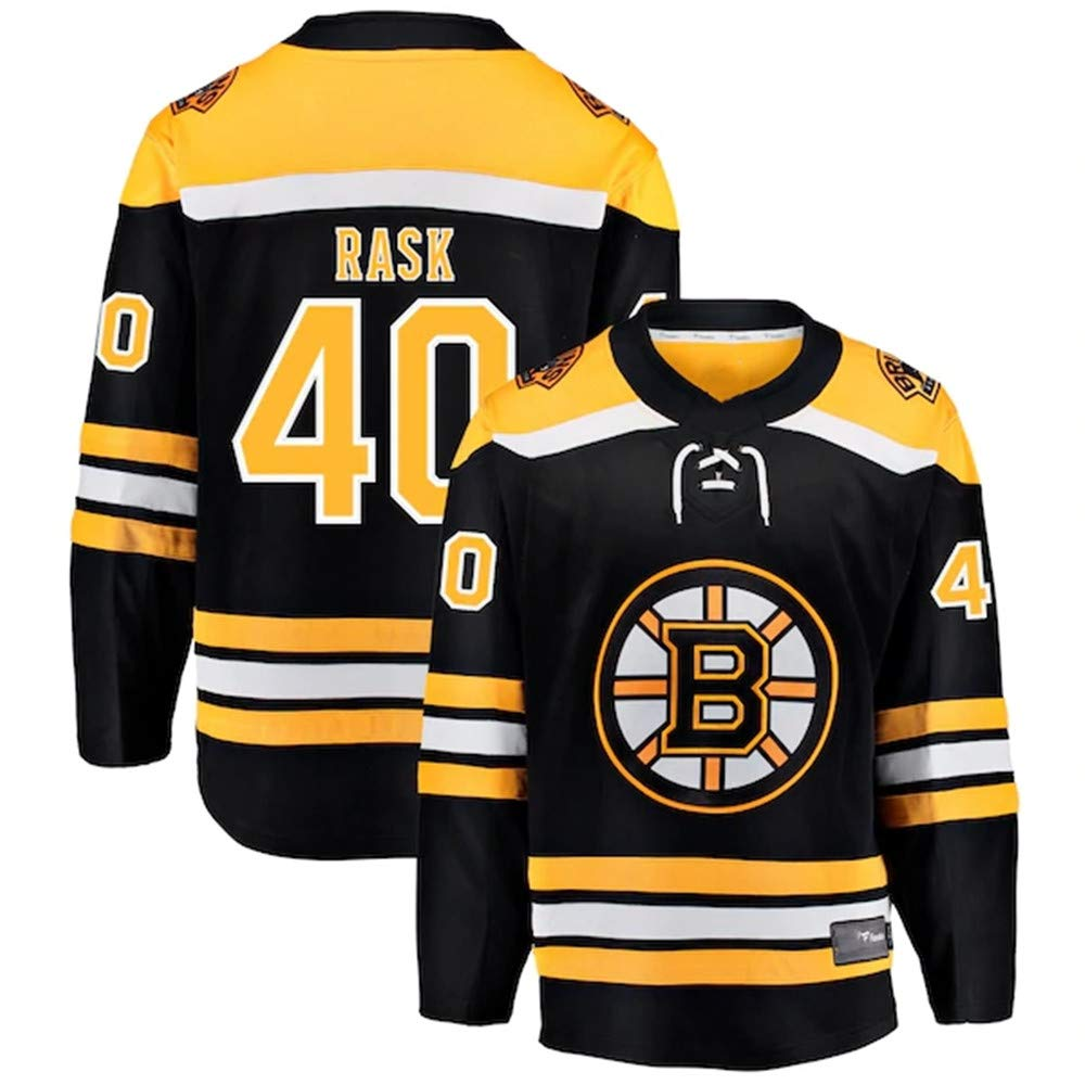 Bruins Tuukka Classic Limited Ice Hockey Long Sleeve Shirts for Men Rask