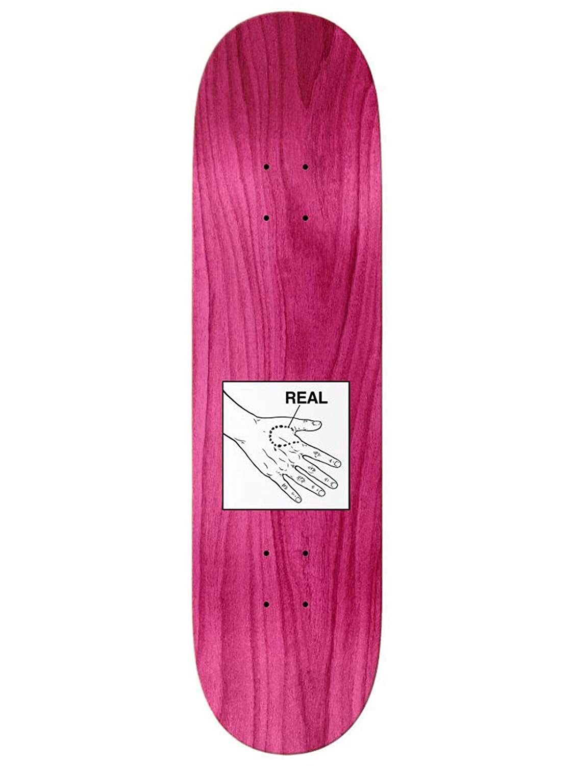 fb5062e390a45 Amazon.com : Real Busenitz Rabid Skateboard Deck - 8.25