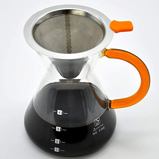 Filtros Cafetera Filtro café Sin olor Fácil de limpiar Rápido y ...