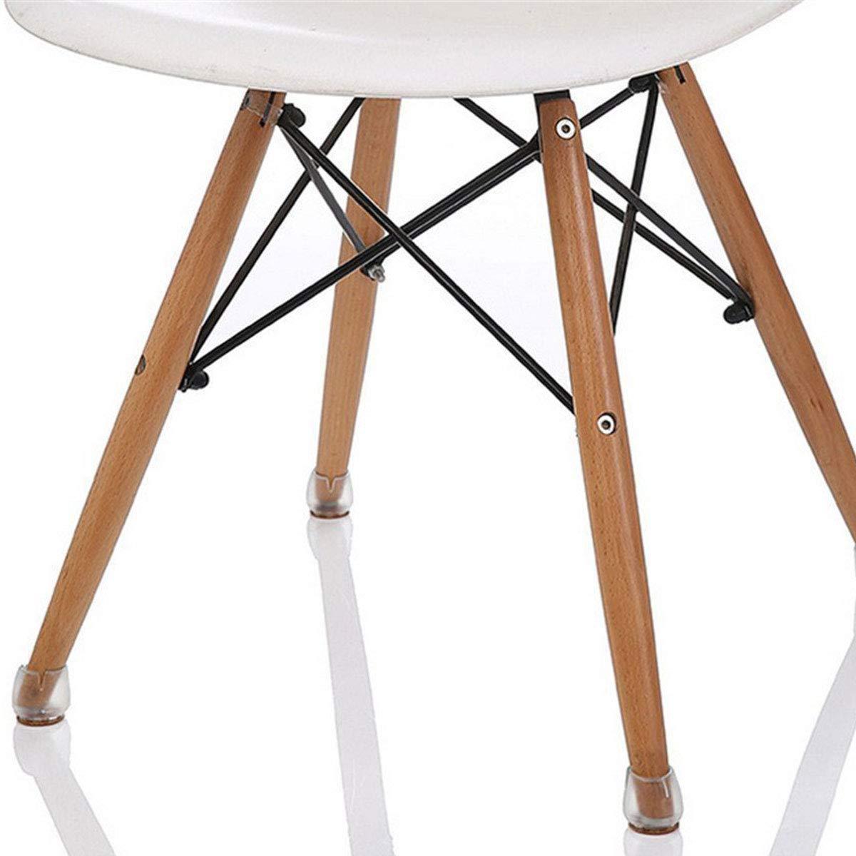 Almohadillas de Silicona para Patas de sillas Protectores de Suelo para Patas Redondas de 25 a 29 mm ExeQianming 8 Unidades