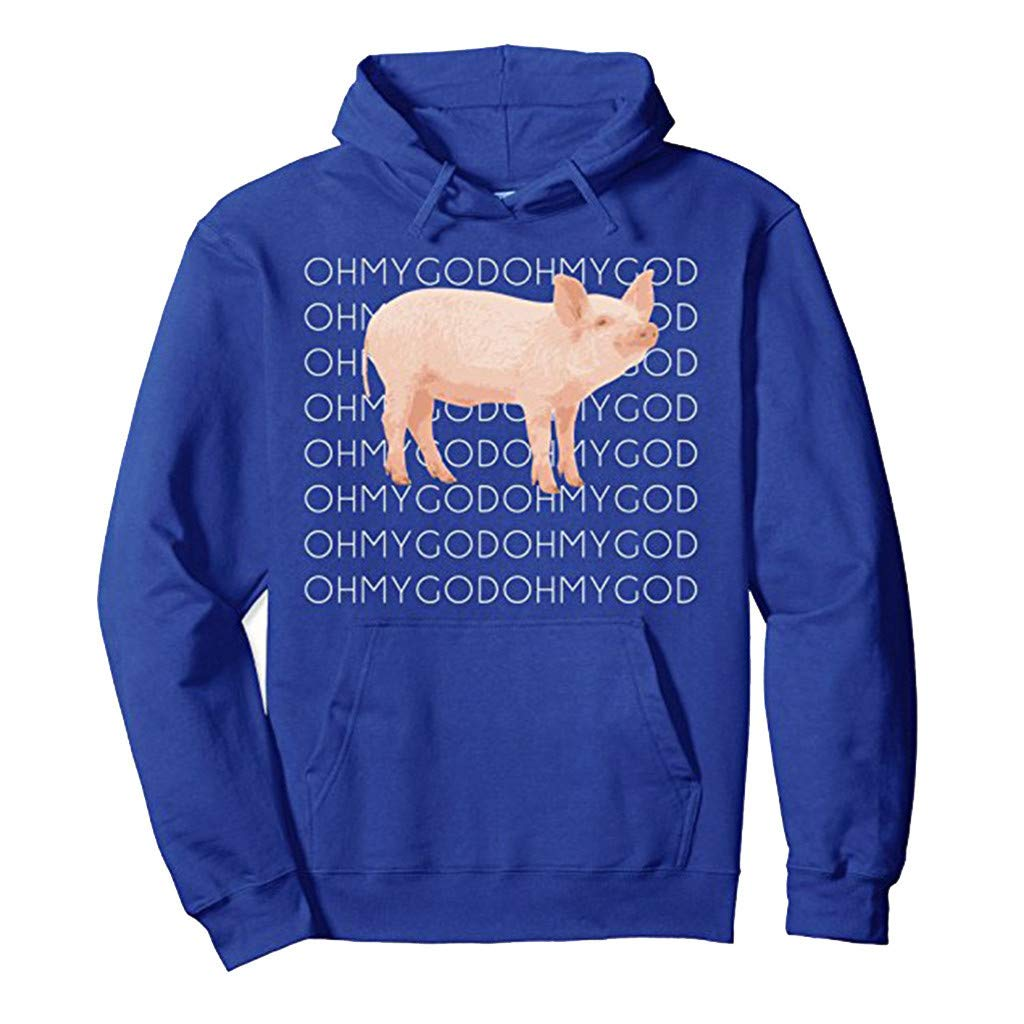 Cgeolhni Womens Print Color Letter Pullover Long Sleeves Sweatshirt