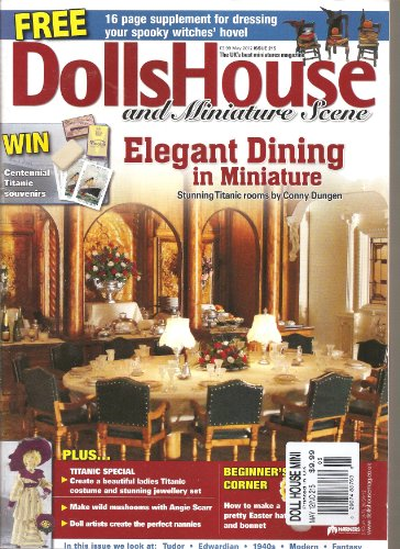 Dolls Miniature Magazine - Dolls House and Miniature Scene Magazine (May 2012)