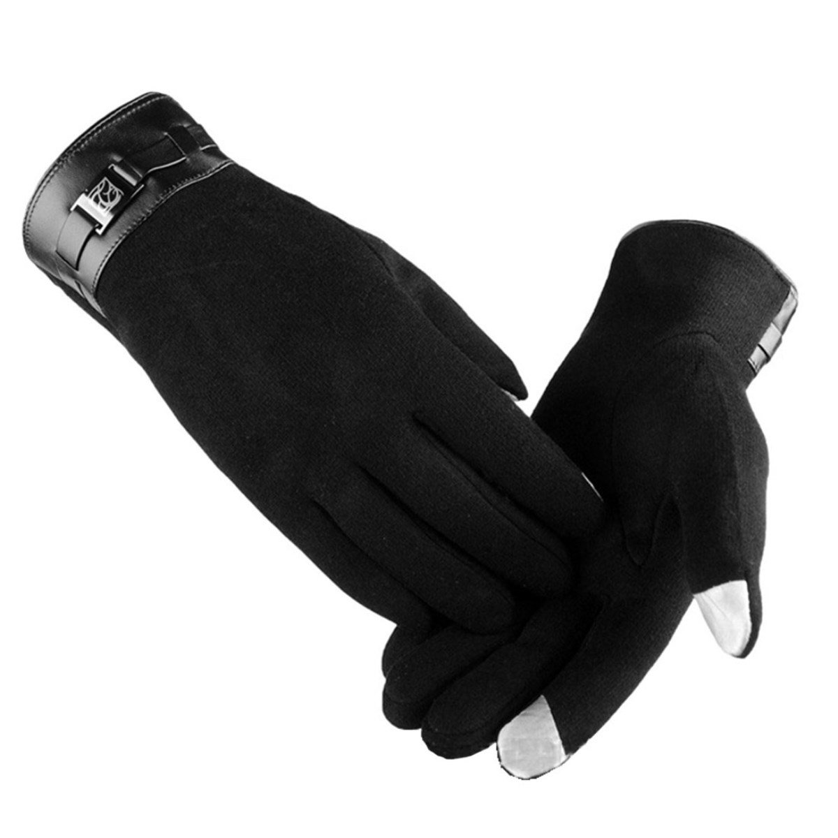 D.King Men Warm Winter Gloves Touch Screen Cold Weather Outdoor Driving Gloves