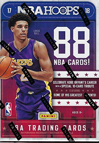 2017 2018 Hoops NBA Basketball Box with One GUARANTEED AUTOGRAPH or MEMORABILIA Card Per Unopened Blaster Box of Packs Possible Rookies and Stars from Unopened Box of Packs