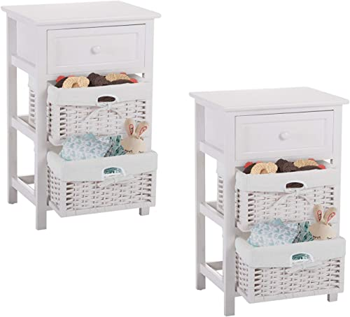 Cheap Nightstand Set of 2 modern nightstand for sale