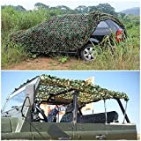 MIYA LTD Outdoor Activities Camouflage Net, 2Mx4M Lightweight Camouflage Net for Military Hunting Shooting Hide Fishing Shelter Camping Hide…