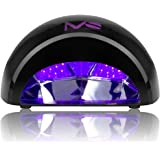 MelodySusie 12W LED Nail Dryer - Nail Lamp Curing LED Gel Nail Polish, Professional for Nail Art at Home and Salon