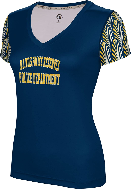 Women's Illinois Police Reserves Police Department Deco SL V-Neck Training Tee