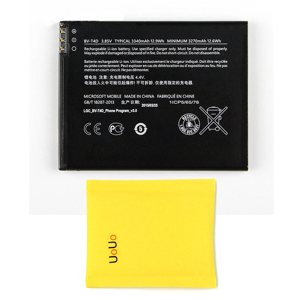 UoUo BV-T4D Battery Replacement for Microsoft Lumia 950 Lumia 940 RM-1118