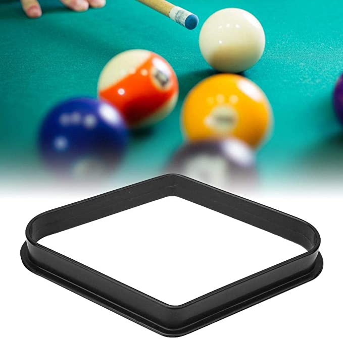 Alomejor 2PCS Billar Rack Plastic Pool Ball Rack Snooker Diamond ...