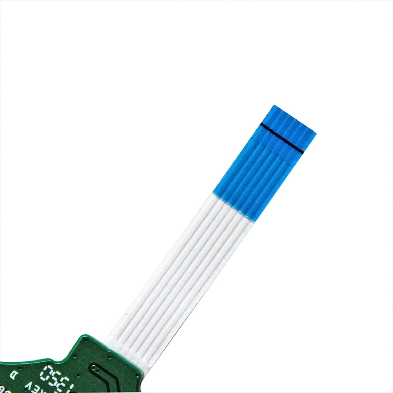 GinTai Laptop Power Button Board W//Cable Replacement for HP Pavilion 17-e132nr 17-e134nr 17-e135nr 17-e150nr 17-e150us 17-e151nr 17-e125nr 17-e131nr 17-e119nr