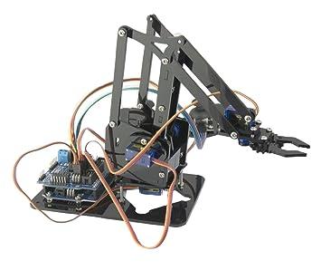 Ebotics BXARM01 - Kit de robótica, electrónica y programación DiY Arm Robot Ebotics
