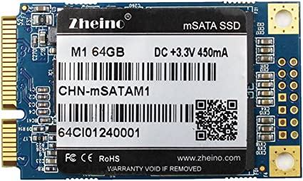 Zheino M1 mSATA SSD 64GB (30 * 50 mm) 2D MLC Interno Disco Duro ...