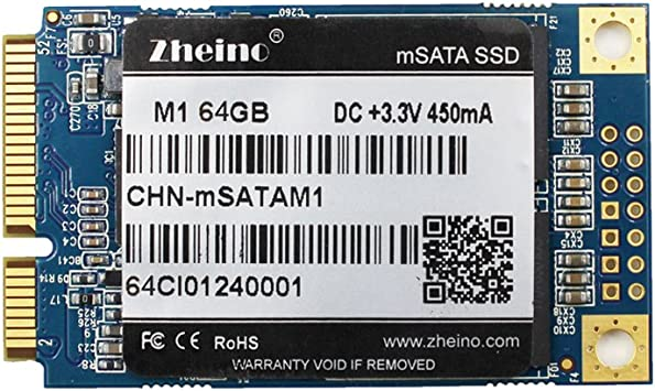 Zheino M1 mSATA SSD 64GB (30 * 50 mm) 2D MLC Interno Disco ...