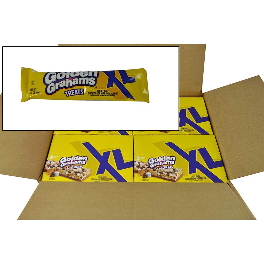 Golden Grahams Marshmallow Chocolate Treat Snack, 2.1 Ounce -- 8 per case. by General Mills