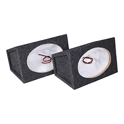 Atrend SC6x9PR - 6X9 Car Speaker Enclosure Pair Carpeted: Car Electronics