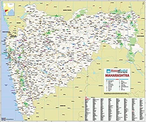 Maps Of India Maharashtra Map (27.5 X 33-inch): Amazon.in ... Maharashtra Map on ajanta on map, goa map, bihar map, india map, nagaland map, arunachal pradesh map, madhya pradesh map, kashmir map, andhra pradesh map, west bengal map, aurangabad map, nagpur map, chhatrapati shivaji international airport map, meghalaya map, pune region map, punjab map, gujarat map, palghar district map, tripura map, mumbai map,