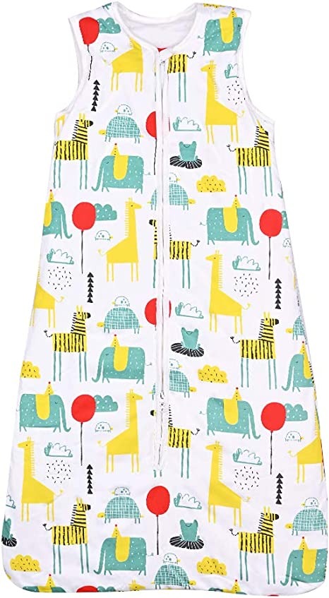 Baby Sleeping Bags Boys Girls Little Wishes 2 Sizes 00 or 0 Cotton Adjustable