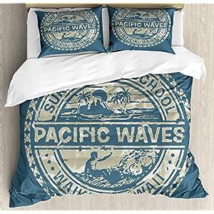 615dilyRx-L._SS300_ 50+ Surf Bedding and Surf Comforter Sets