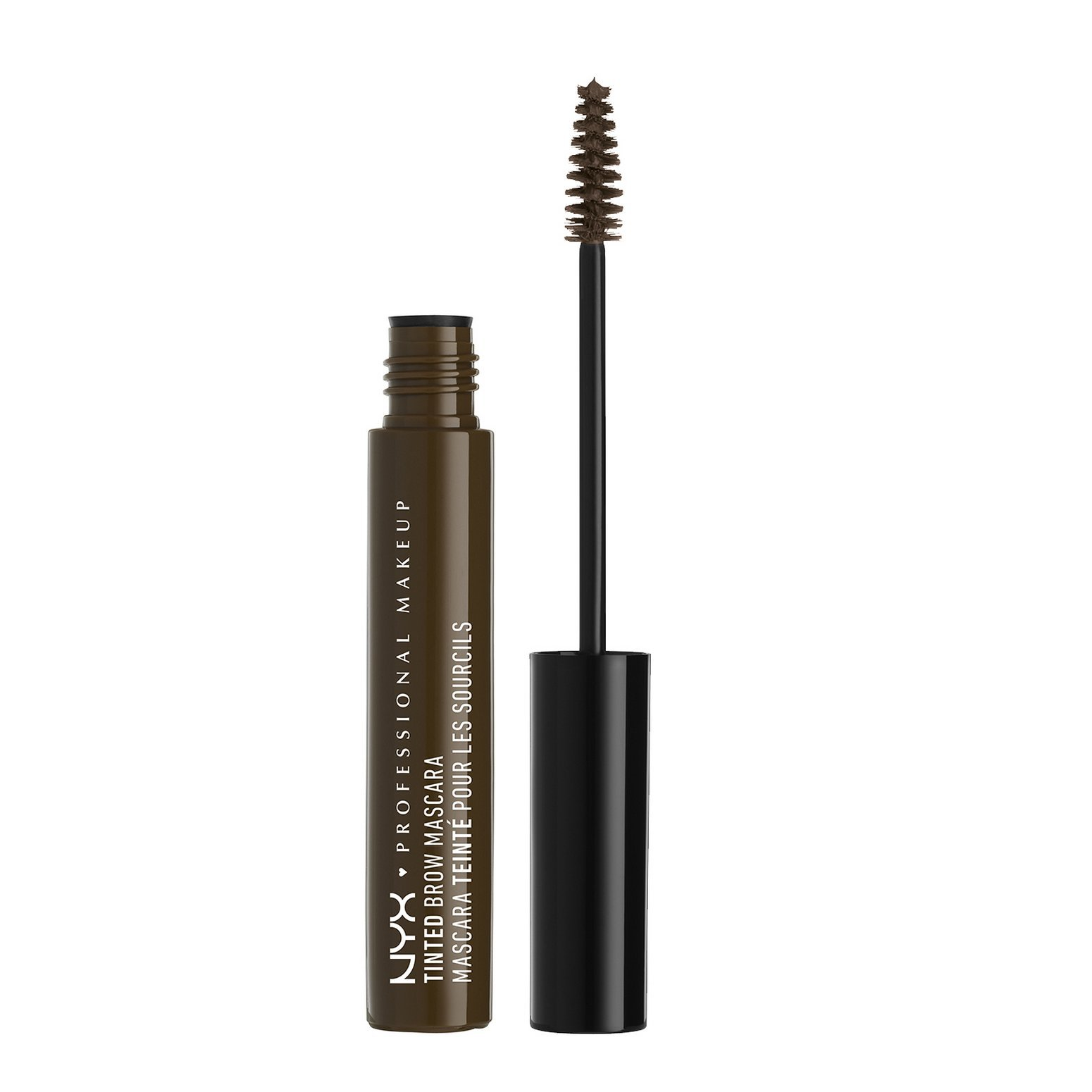 NYX PROFESSIONAL MAKEUP Tinted Brow Mascara, Espresso, 0.22 Fluid Ounce