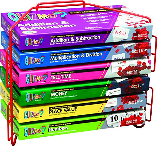 Learning Advantage 8281 Quizmo Math Game Series, Elementary, Grade: 1 to (Math Game Series)