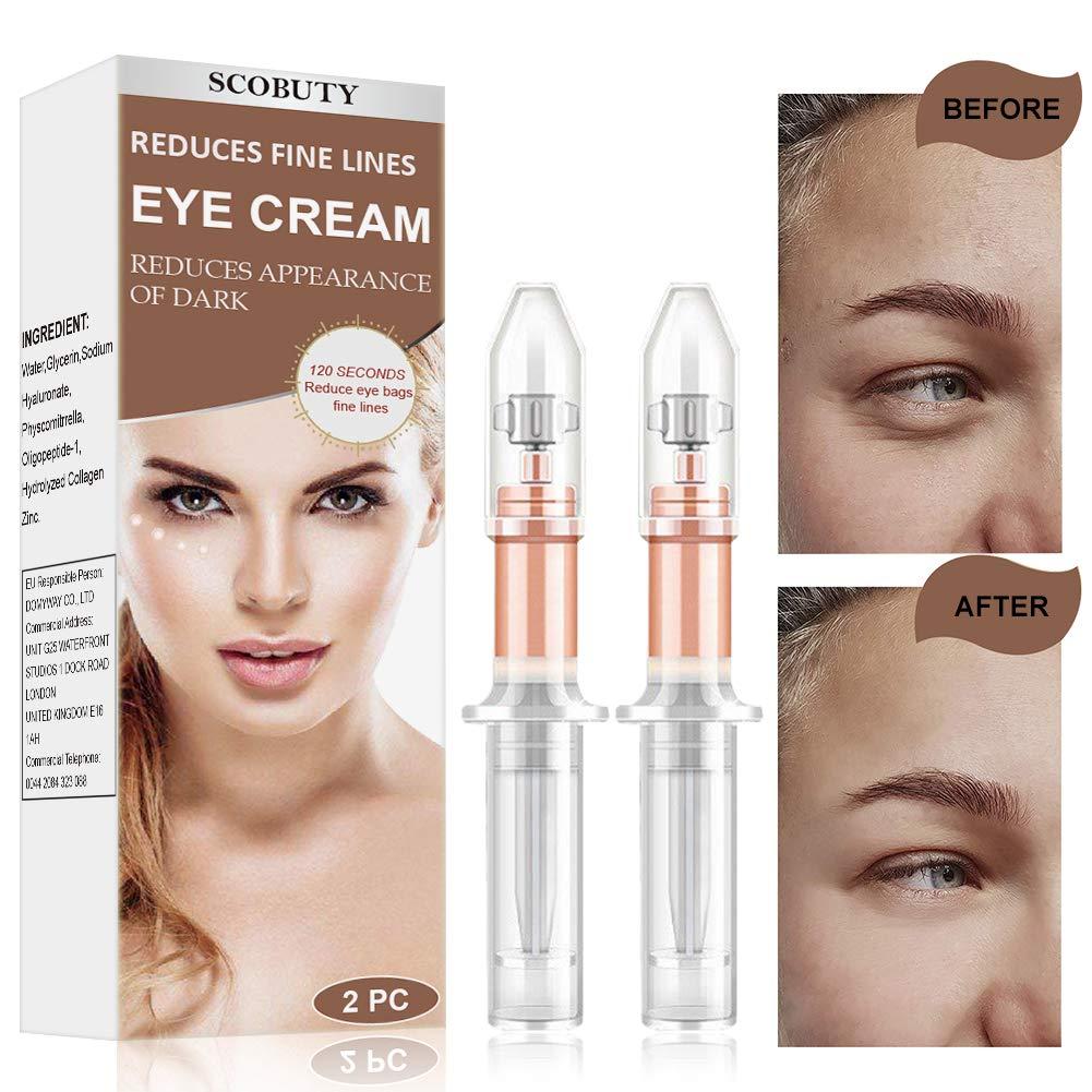 Eye Cream,Rapid Reduction Eye Cream,Under Eye Cream,Anti Aging Eye Cream,Instant Eye Wrinkle Cream Depuffing Eye Cream for Firming Eye Dark Circles Puffiness Finelines Under Eye Bags by TOULIFLY