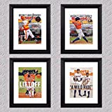 PosterWarehouse2017 ASTROS WORLD SERIES & HOW SPORTS ILLUSTRATED COVERED - FOUR 11x14 POSTER/COVERS