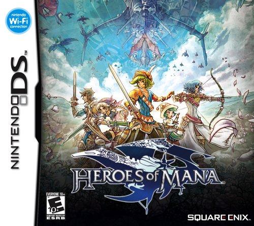 Heroes Of Mana - Nintendo DS - Mana Of Dawn