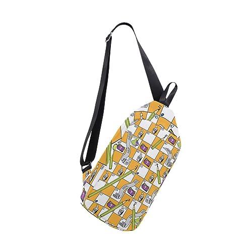 Amazon.com: Sling Bag - Mochila multiusos para hombre ...