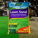 Elixir Gardens ® Westland Lawn Sand Moss Killer Lawn Grass Tonic Fertiliser Treats 200 sqm x 1