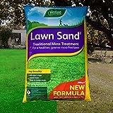 Elixir Gardens ® Westland Lawn Sand Moss Killer Lawn Grass Tonic Fertiliser Treats 200 sqm x 1