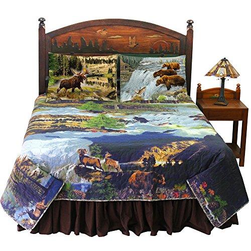 Patch Magic Wilderness Galore 4-pieces Quilt set super king size
