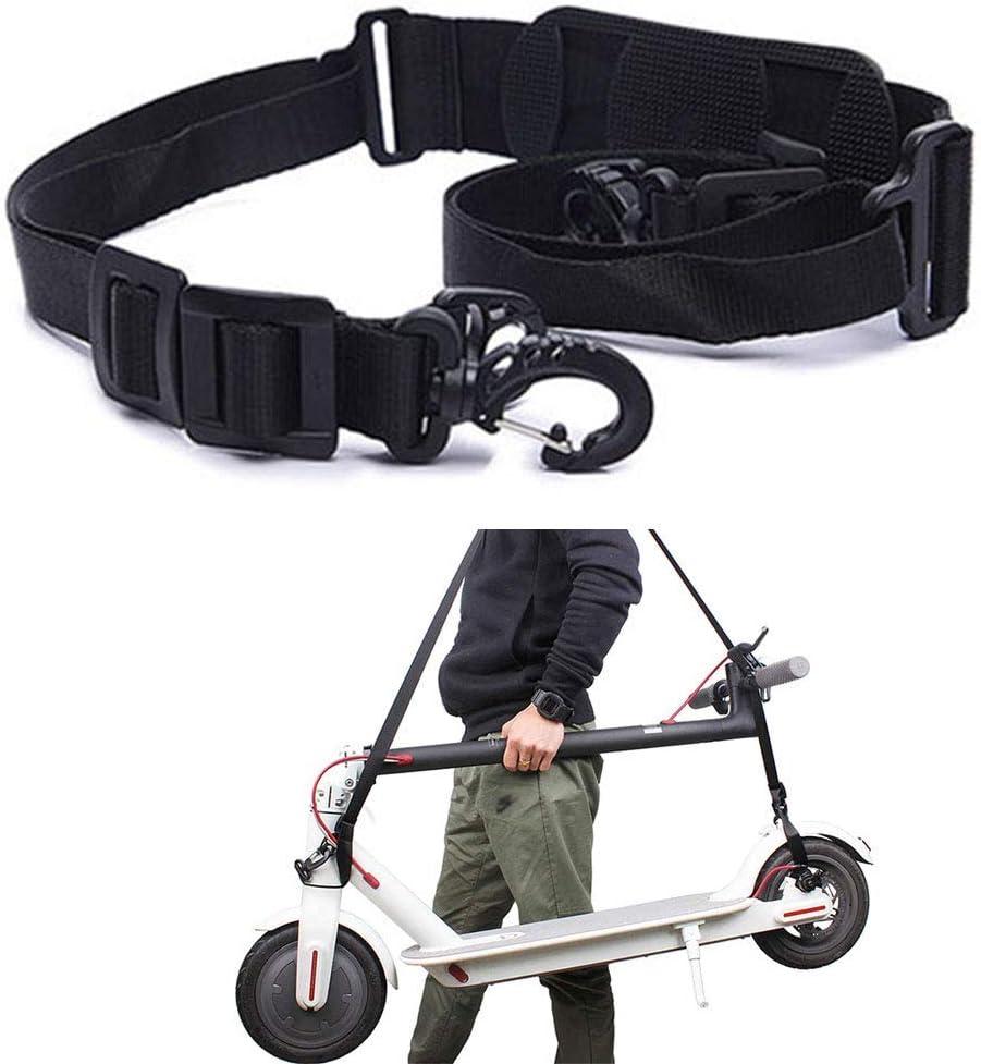 ZONSUSE Eléctricos Scooter Correa de Hombro Cinturón de Transporte portátil Adecuado para niños Bicicletas Bicicleta Plegable Xiaomi Patinetes eléctricos,Piezas de patinetes eléctricos.