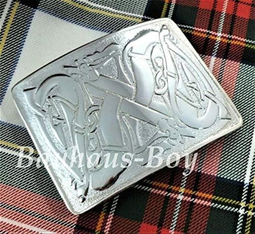 Panami - Hebilla para cinturón de falda, diseño celta, acabado ...