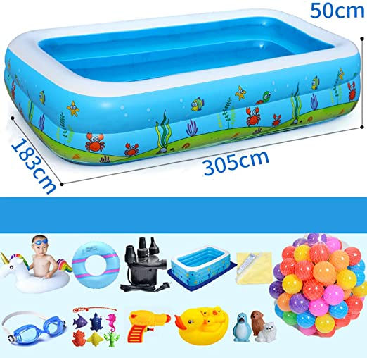 T-XYD Piscina para niños, Piscina para Perros, bañera, Juegos de ...