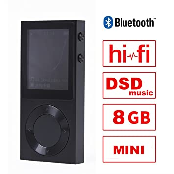 Saomai 8GB ROCKER Bluetooth Reproductor de MP3 Metalico con ...