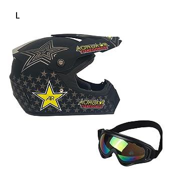 airiver Casco de Motocicleta Cascos Abiertos de Moto Motocicleta Bicicleta Casco Integral de Casco de Moto