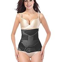 3 in 1 Postpartum Support Recovery Girdle Corset Belly Waist Pelvis Belt Shapewear Belly Wrap