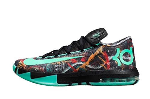 c5ebf2adc0dc Nike KD VI Illusion All Star Men Sneakers Green Glow-Black 647781-930  (Size  10)  Amazon.ca  Shoes   Handbags