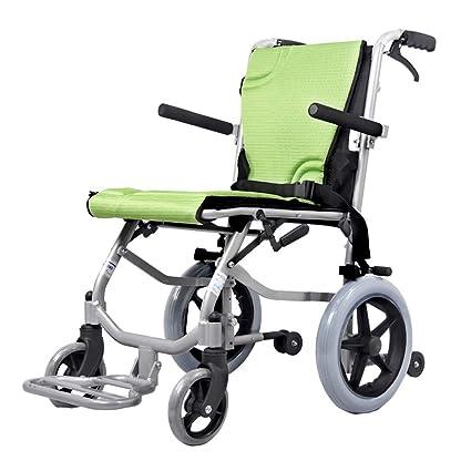 Sillas de ruedas Manual Plegable Ancianos portátil Elegante ...