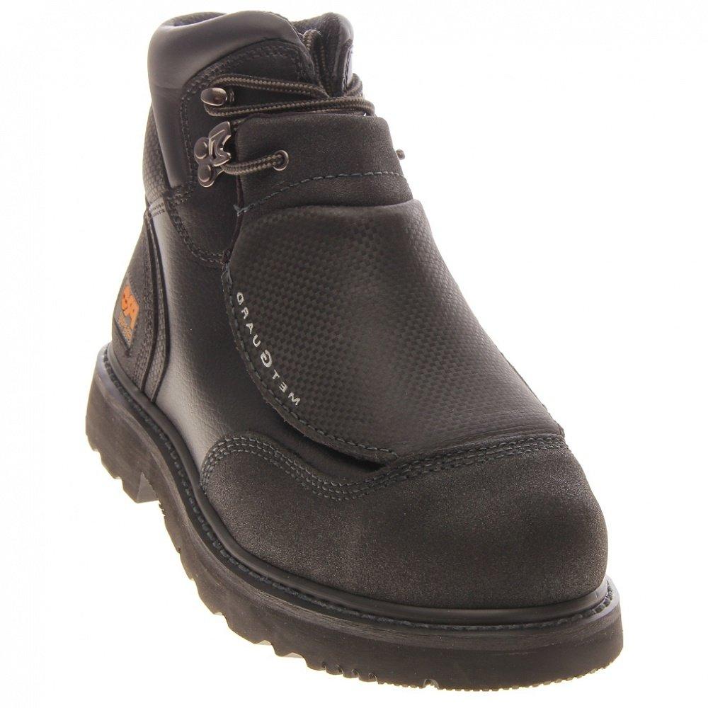Timberland PRO メンズ B008T66GGE 6.5 2E US|Black Ever Guard Leather Black Ever Guard Leather 6.5 2E US