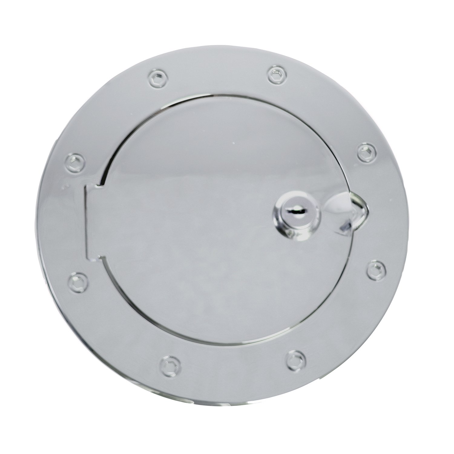 Rugged Ridge 11134.03 Polished Stainless Steel Gas Door Cover