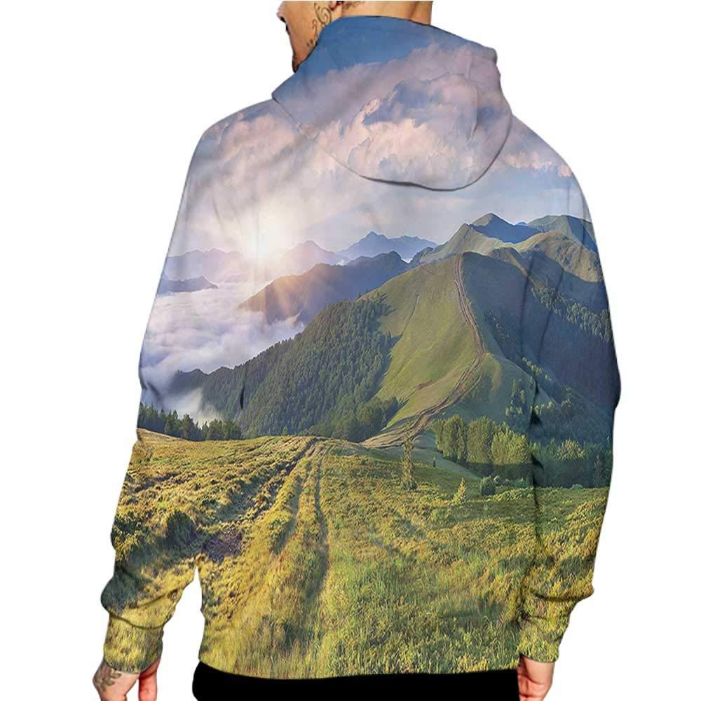 Unisex 3D Novelty Hoodies Moroccan,Diagonal Classic Lines,Sweatshirts for Women Plus Size