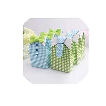 50pcs Popcorn Boxes Bags Kid Xmas Party Candy Treat Boxes Wedding Birthday Decor