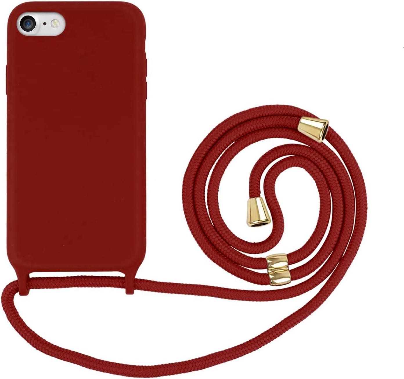Suhctup Compatible con iPhone 6/iPhone 6S Funda con Cuerda ...