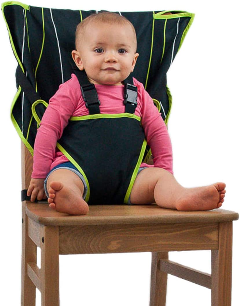 Cozy Cover Easy Seat Portable High Chair (BlackGreen