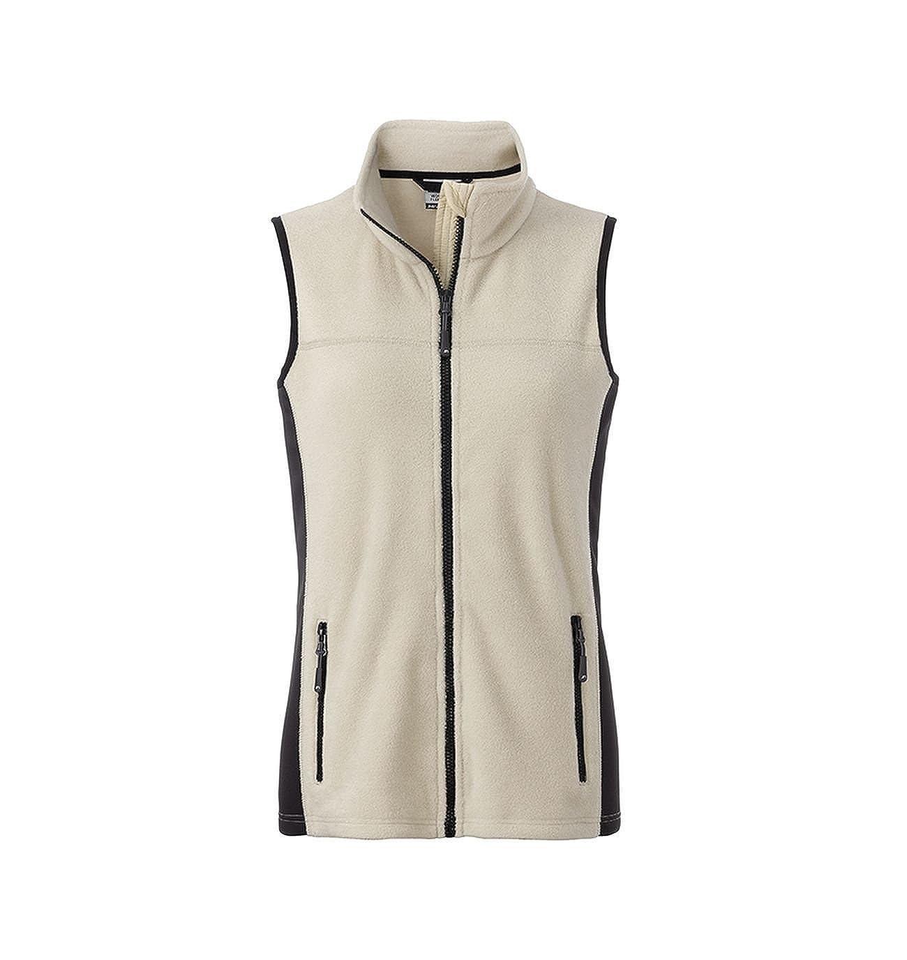 Strapazierf/ähige Damen Fleece Weste Workwear
