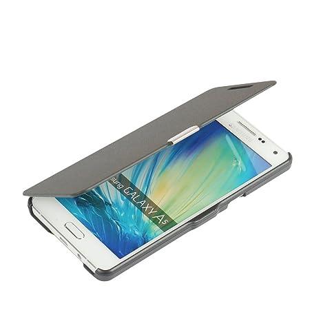 MTRONX para Funda Samsung Galaxy A5 (2015), Cover Case Carcasa Caso Ultra Folio Flip Cuero Delgado Piel con Cierre Magnetico para Samsung Galaxy A5 ...