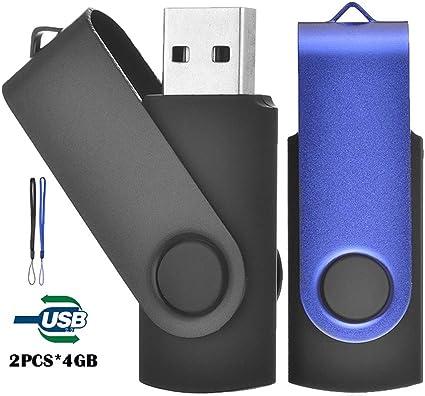 TEWENE - Pack de 3 unidades de memoria USB (4.0GB), color ...