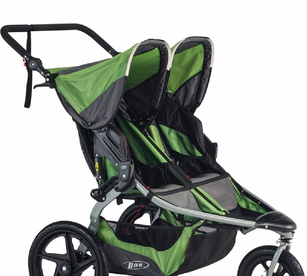 BOB 2016 Revolution Flex Duallie Stroller, Meadow